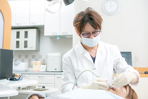 歯周病の治療法について